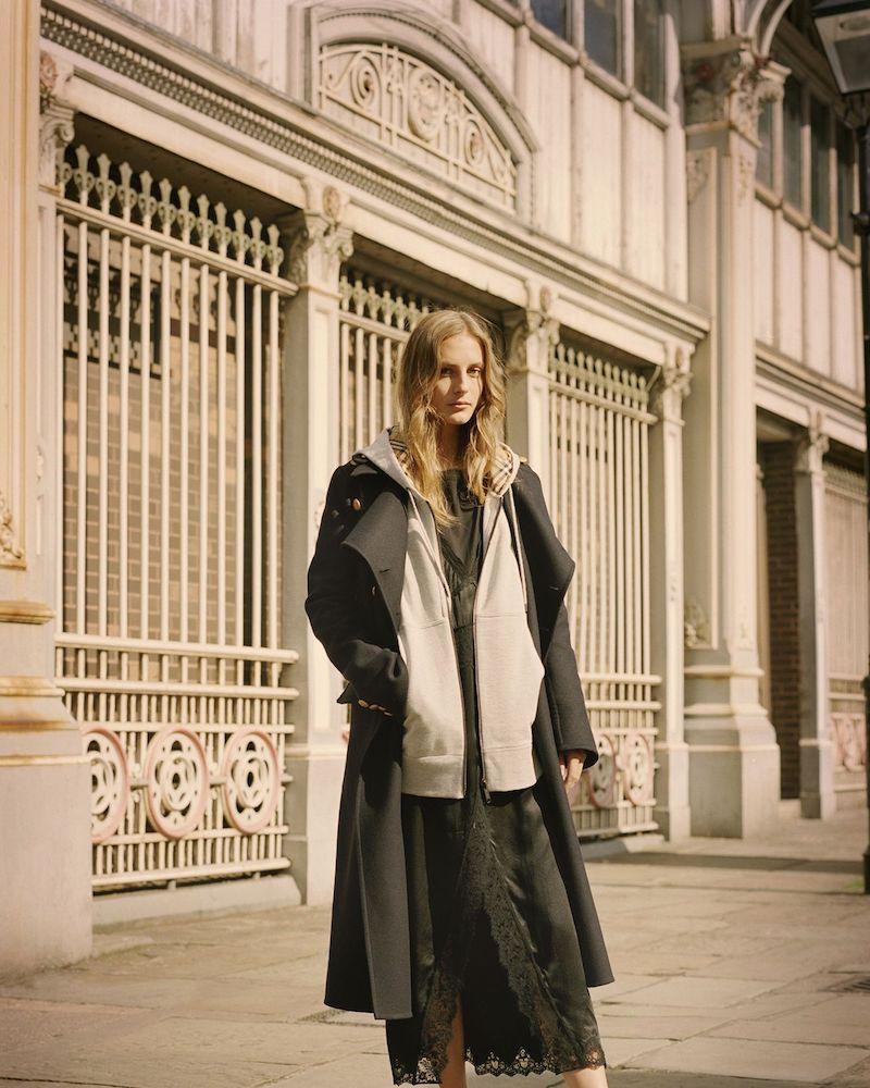 Burberry Wool-Felt Coat