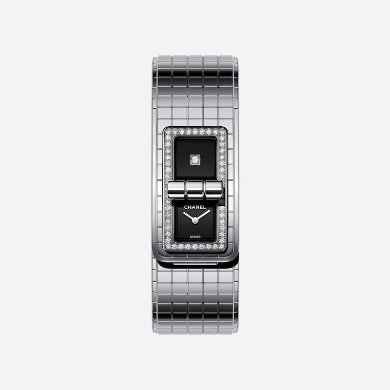 CHANEL COCO H5145 Steel Set with Diamonds Watch