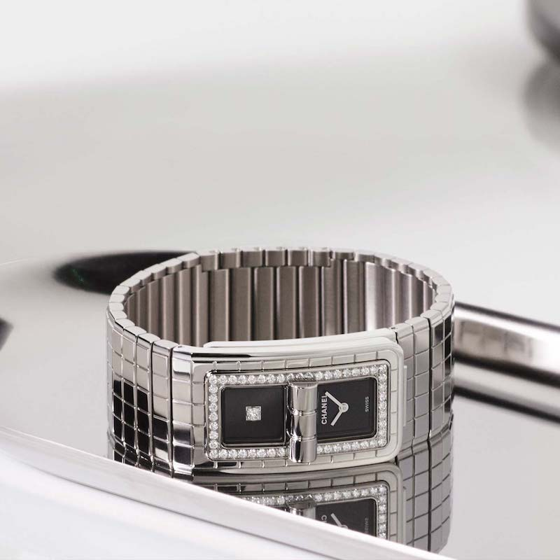 CHANEL CODE COCO H5145 Steel Set with Diamonds Watch