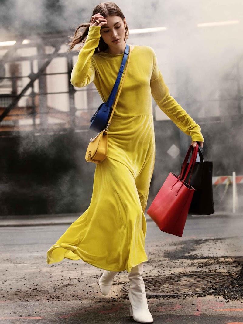Cédric Charlier Asymmetric Velvet Midi Dress
