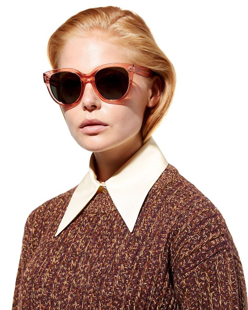 Céline Eyewear Audrey Oversized Sunglasses