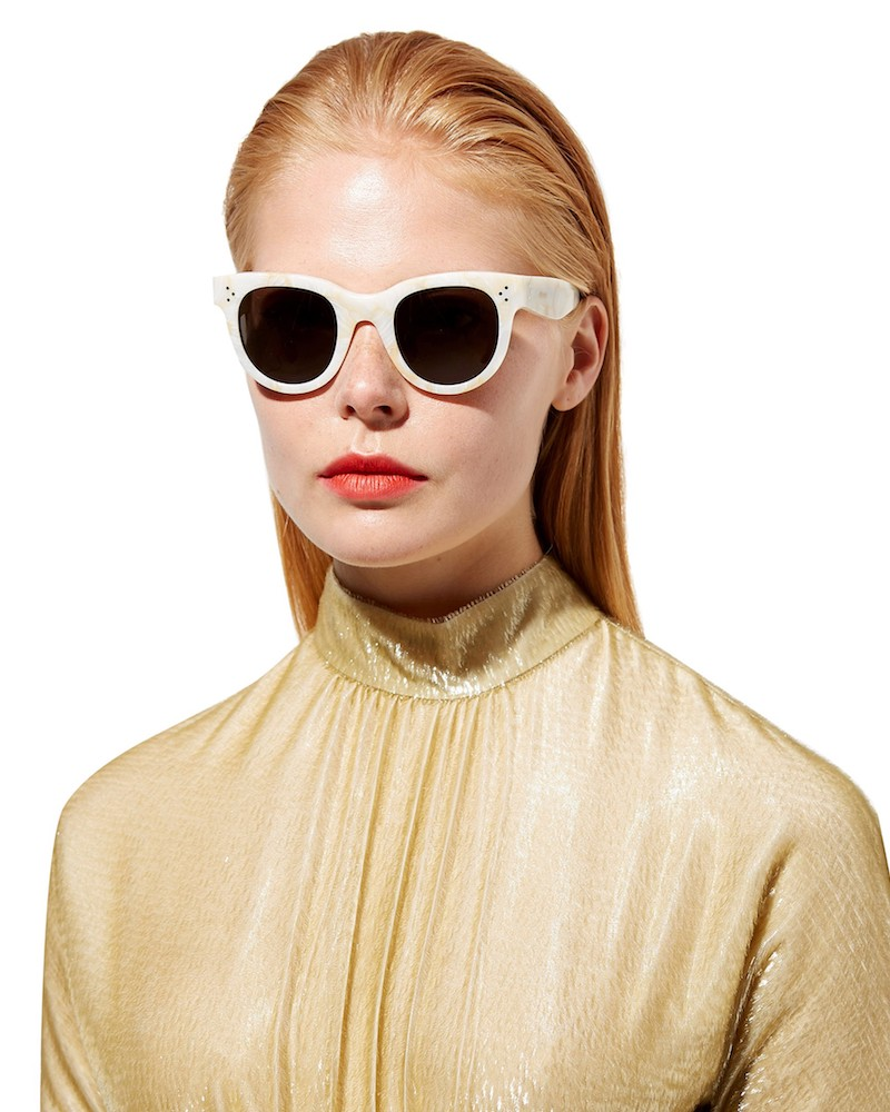 Céline Eyewear Baby Audrey Cat-Eye Sunglasses