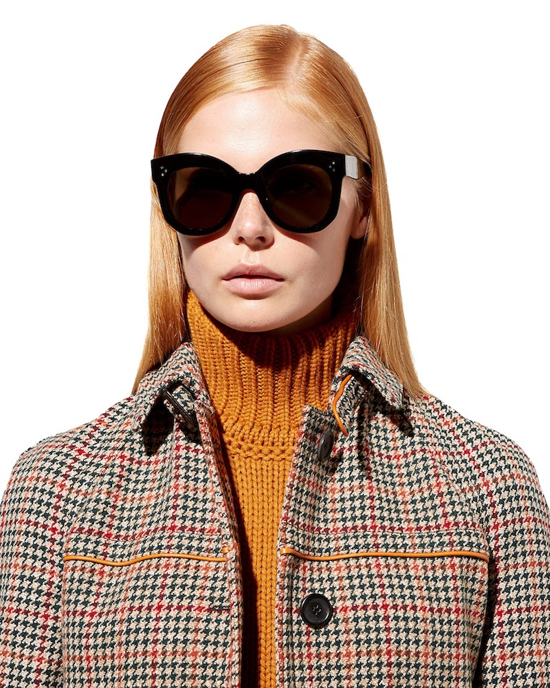 Céline Eyewear Chris Cat-Eye Sunglasses