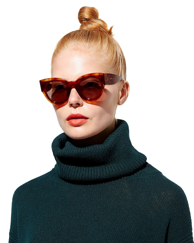 Céline Eyewear Petra Cat-Eye Sunglasses