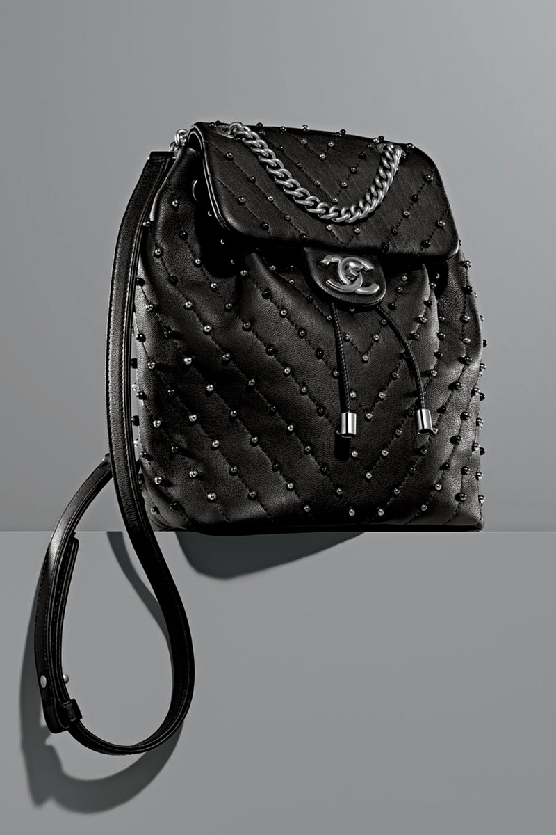 Chanel Studded Backpack
