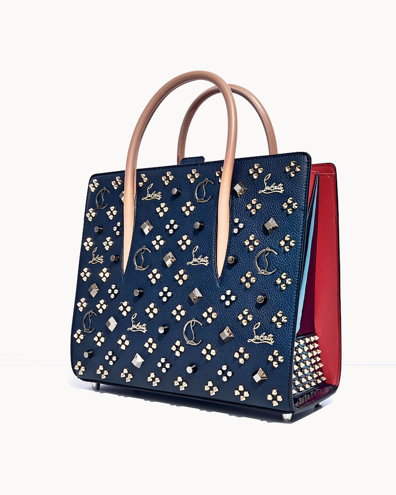 Christian Louboutin Paloma Empire Spikes Medium Mixed-Stud Tote Bag