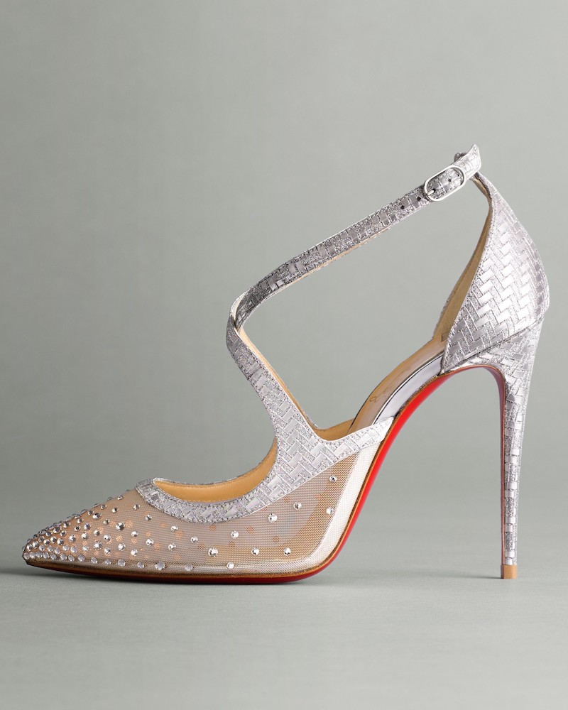 Christian Louboutin Twistissima Embellished Pump