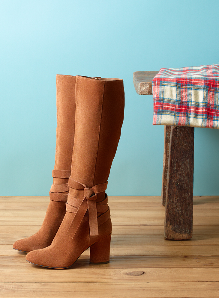 Easy-Chic Tall Boots