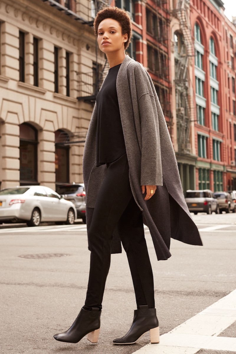 Eileen Fisher Ombré Kimono Coat