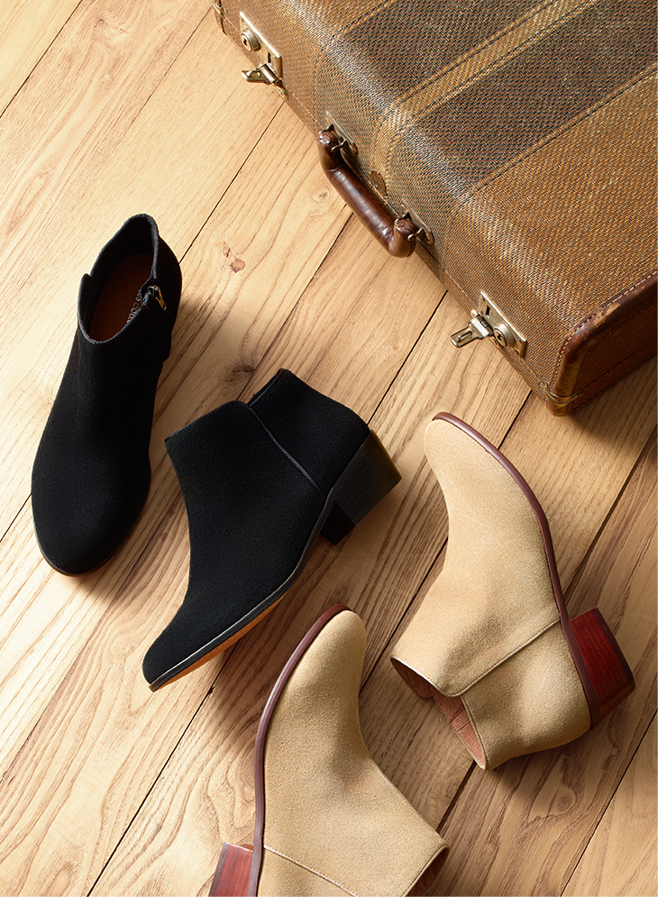 Essential Fall Ankle Booties
