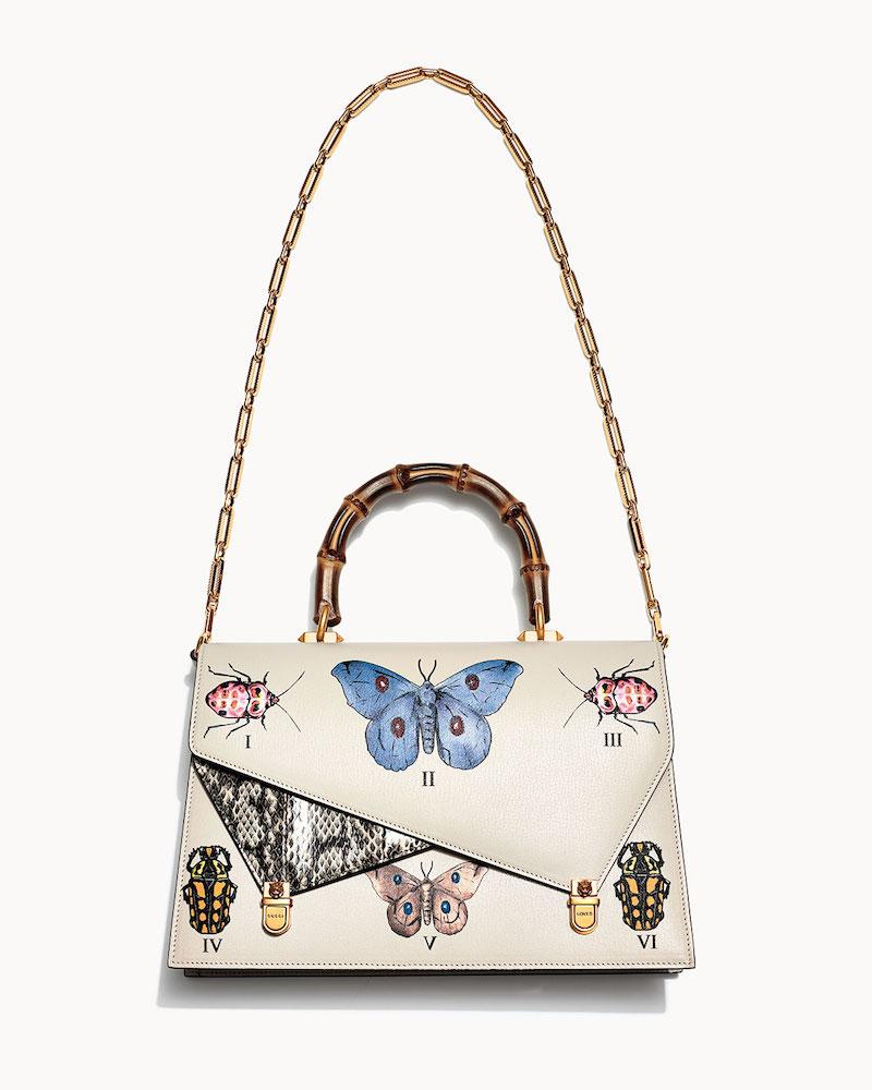Gucci Ottilia Medium Bamboo Top Handle Bag