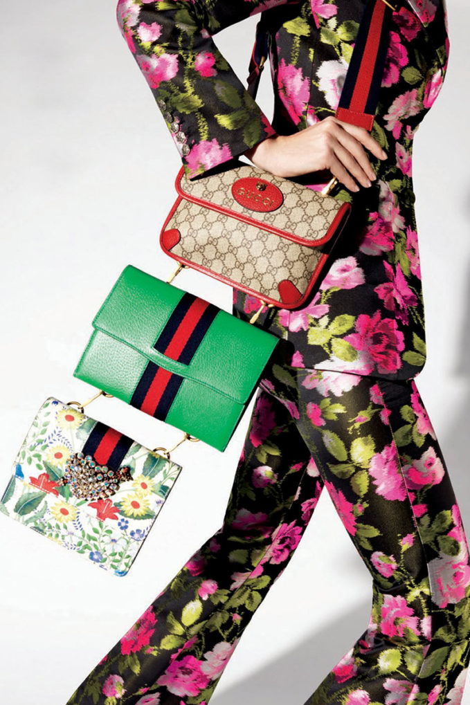 Gucci Totem Three-Piece Shoulder Bag