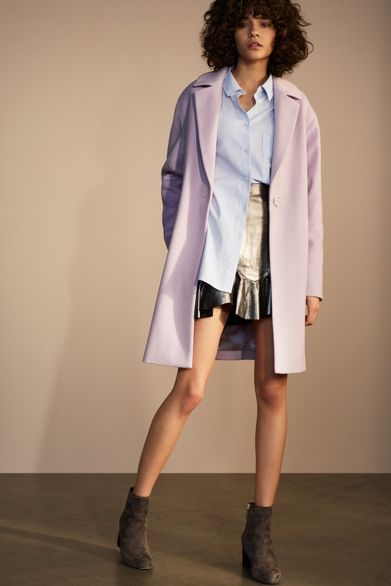 Halogen Wool Blend Coat