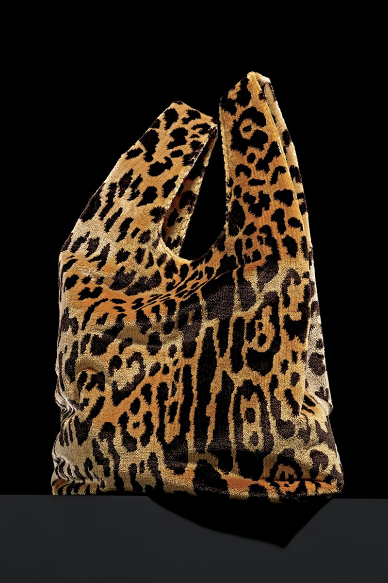 Hayward Venetian Leopard Brocade Shopper Tote Bag