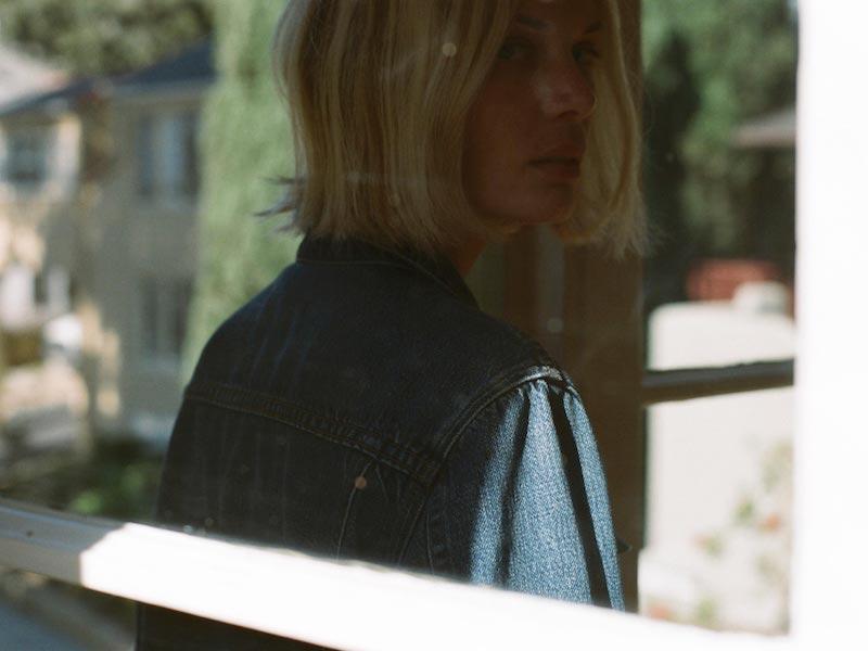 J Brand Cyra Oversized Jacket in Kingsland