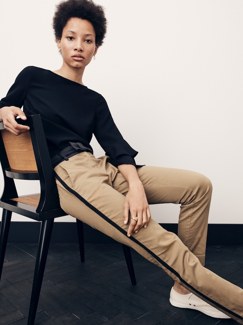 J.Crew Cameron Bow Stretch Chino Pant