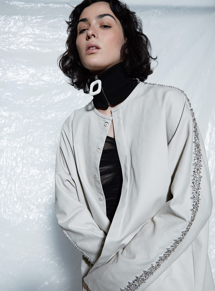J.W. Anderson Neckband with Zip Detail