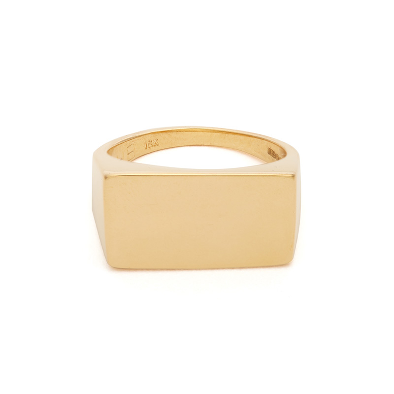 Jessica Biales Yellow-Gold Ring
