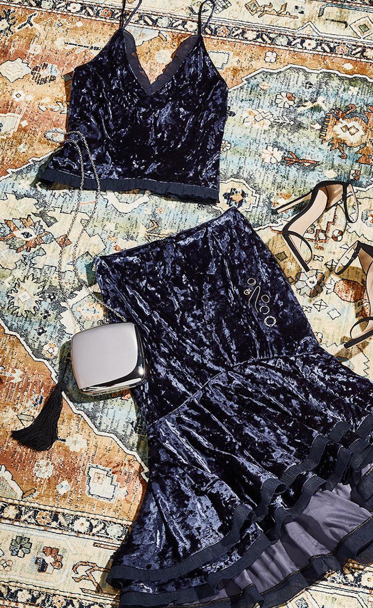 Jonathan Simkhai Ruffle Skirt