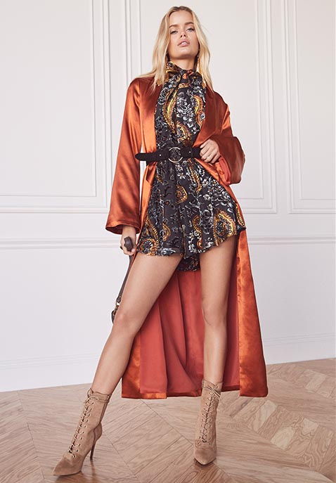 LIONESS Lovers and Gamblers Romper