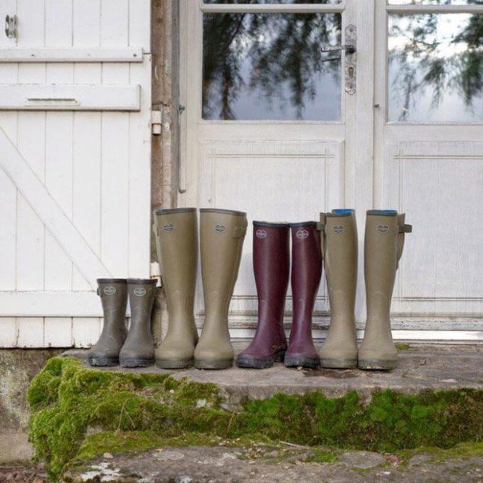 Le Chameau Rain boots