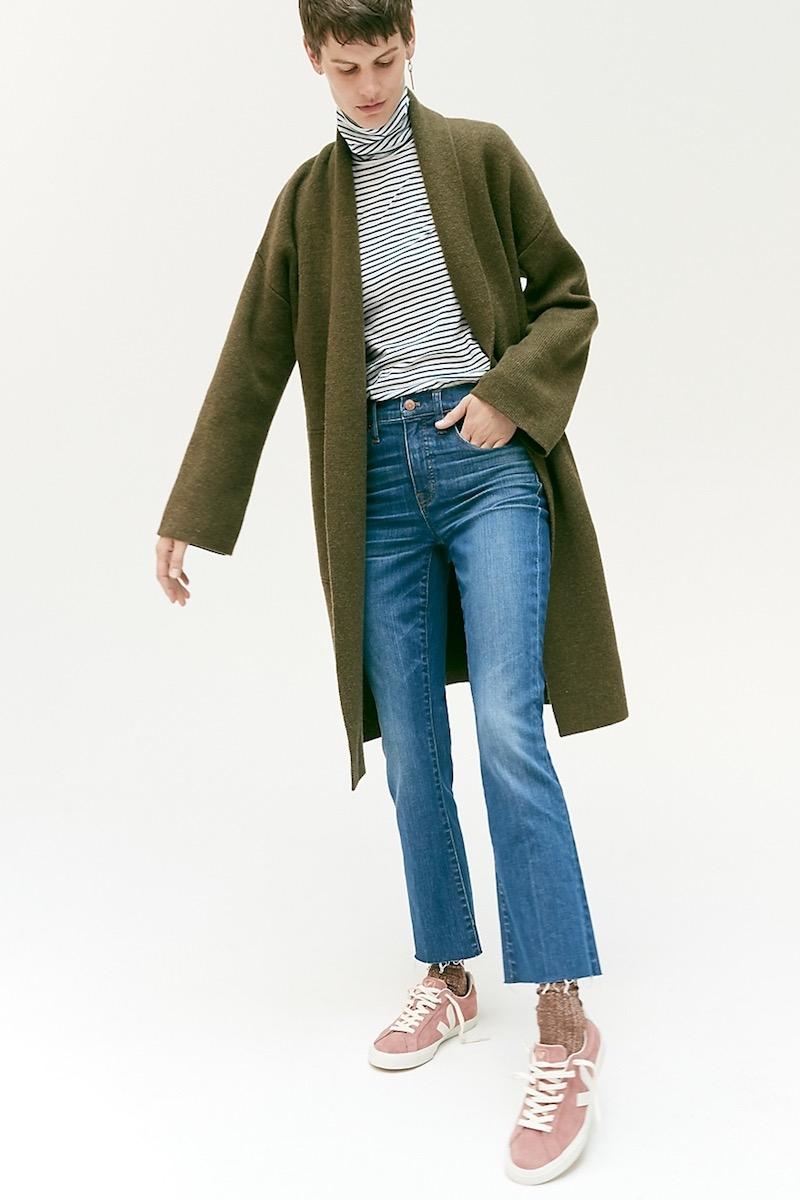 Madewell Rivington Sweater-Coat