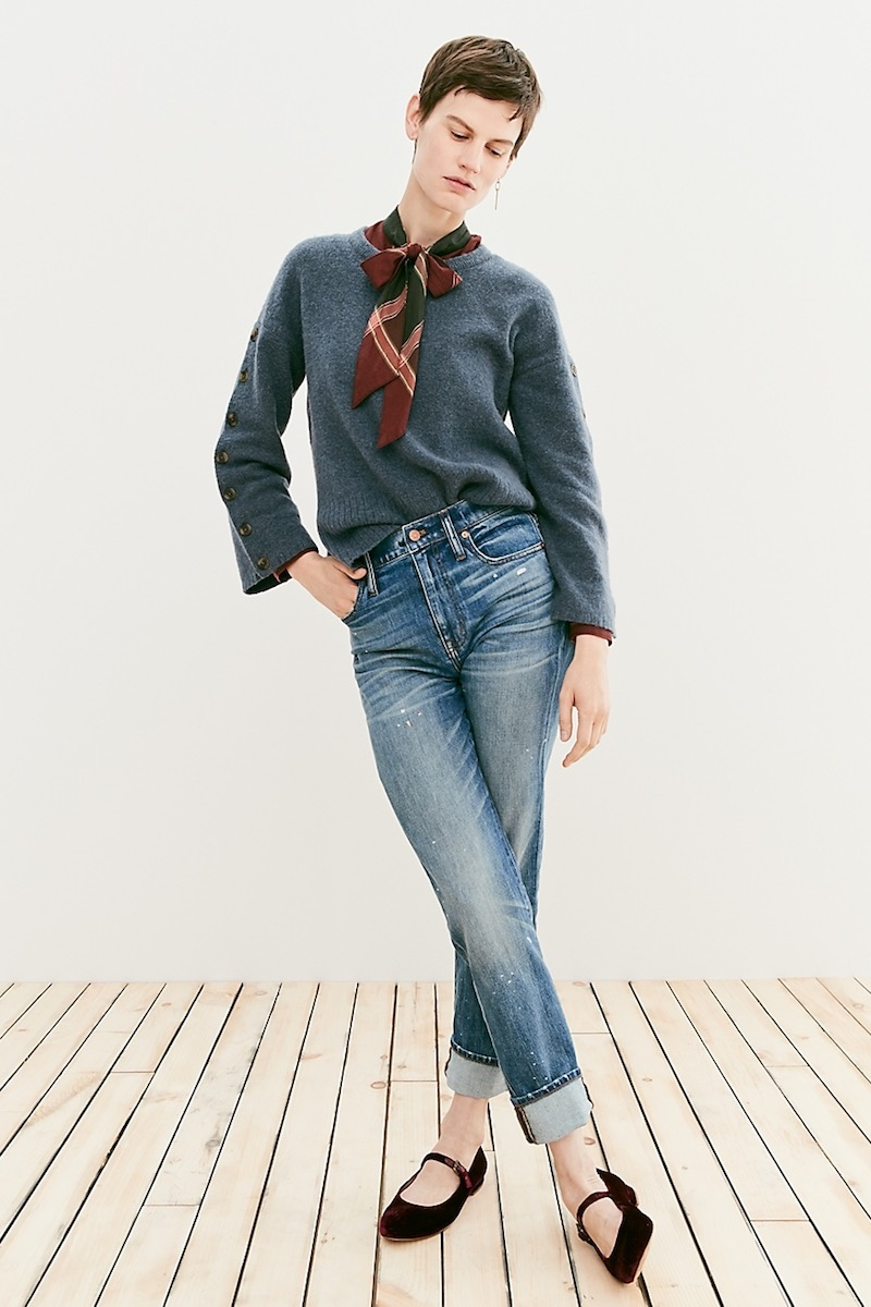 Madewell The High-Rise Slim Boyjean: Painter Edition