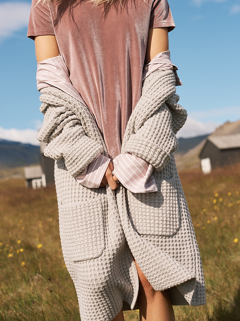 Madewell Wafflestitch Sweater-Coat