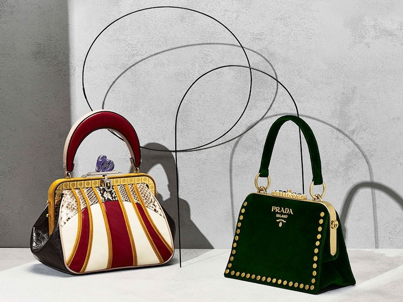 Marni Mademoiselle Python and Leather Bag