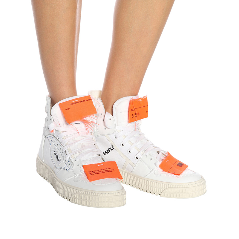 Off-White c/o mytheresa.com Leather Sneakers in White No C