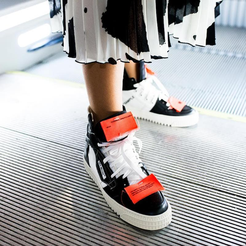Off-White c/o mytheresa.com Leather Sneakers