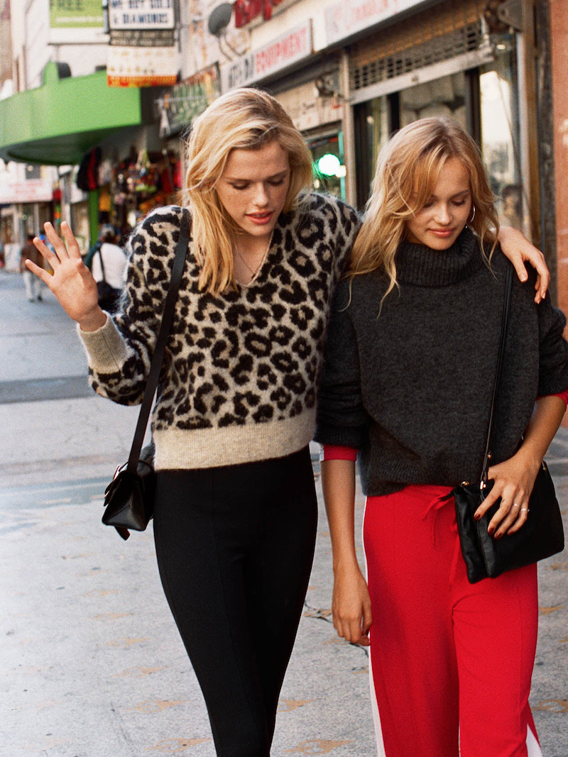 & Other Stories Leopard Sweater