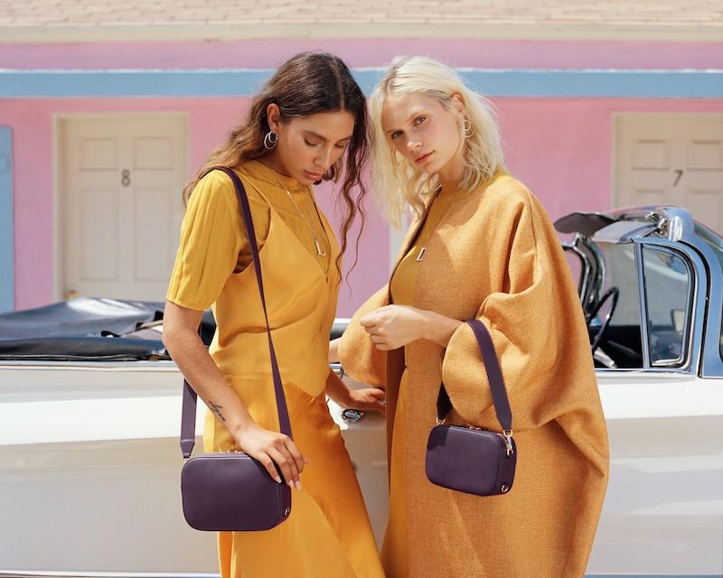 Pop & Suki Bigger Leather Camera Bag
