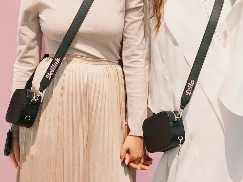 Pop & Suki Leather Camera Bag