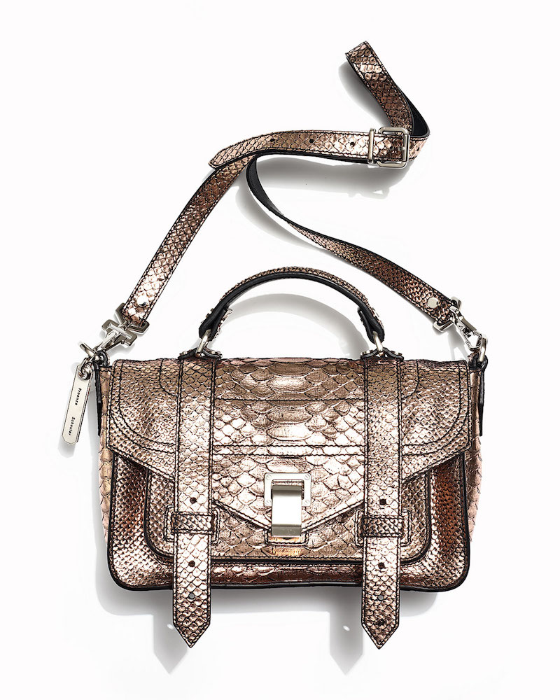 Proenza Schouler PS1+ Tiny Leather Satchel Bag