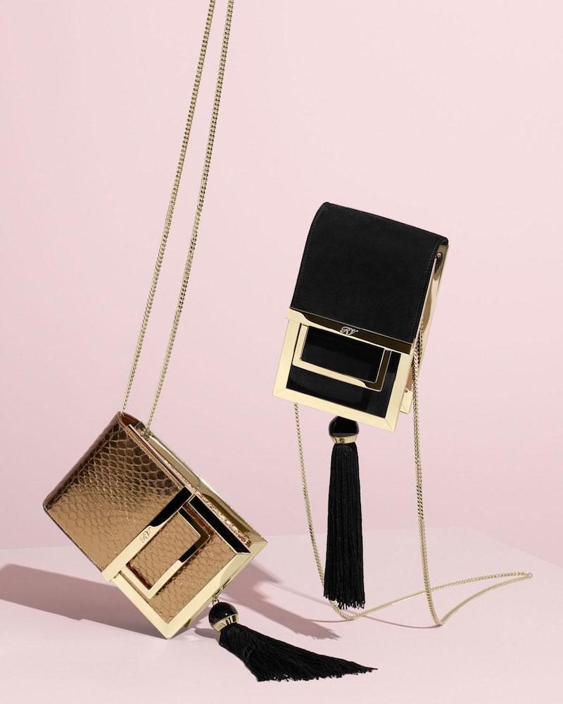 Roger Vivier Mill Et Une Nuits Chain Box Bag