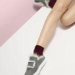 Roger Vivier Sneaky Viv Fur-Lined Strass Mule