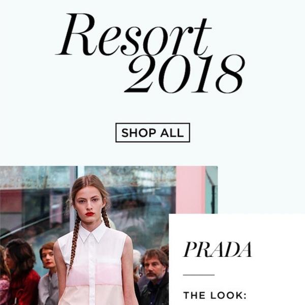 Saks Fifth Avenue Newsletter Oct 27, 2017