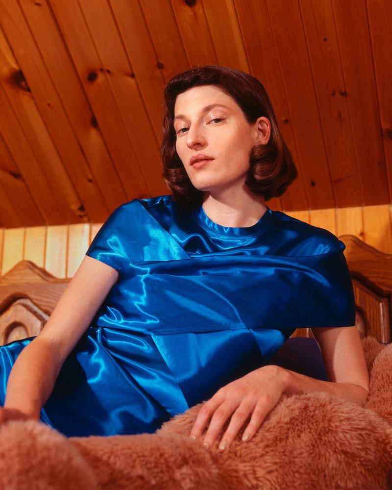 Sies Marjan Blue Nikki Blouse