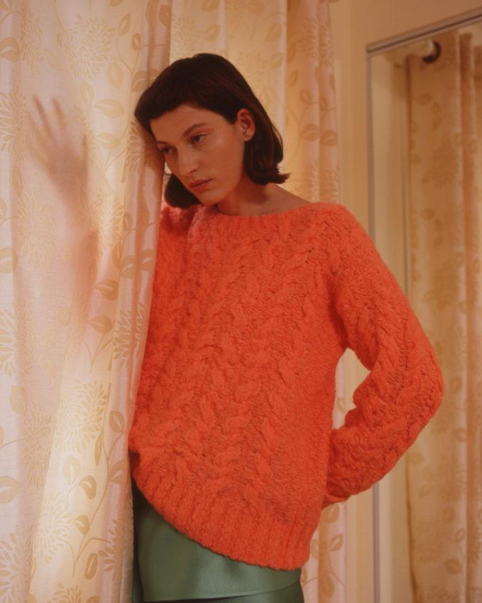 Sies Marjan Orange Casey Sweater