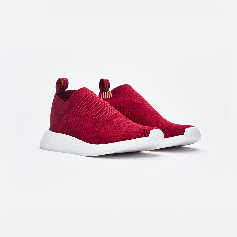 "Sneakersnstuff Exclusive adidas Originals NMD CS2 PK ""Class of 99"" in Burgundy"