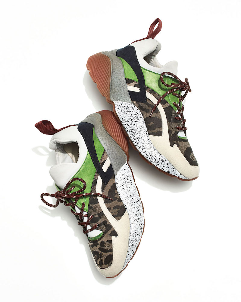 Stella McCartney Runway Leo Lace-Up Sneaker