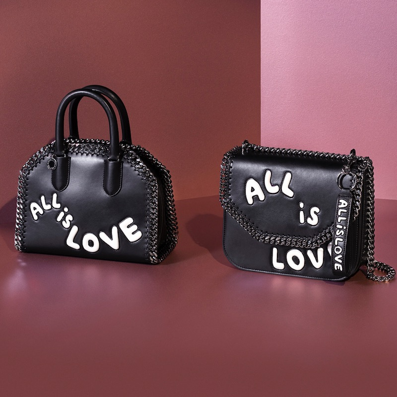 Stella McCartney All Is Love Falabella Box Mini Bag