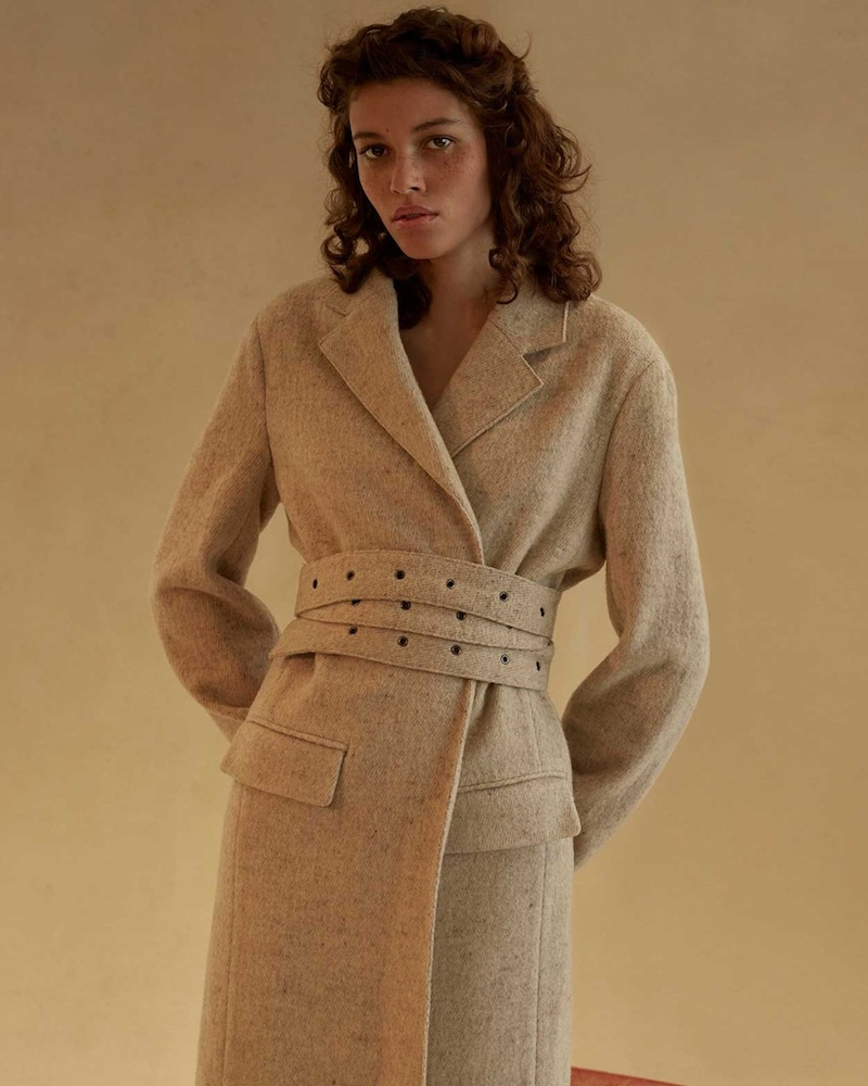 The Row Pesner Belted Long-Line Coat