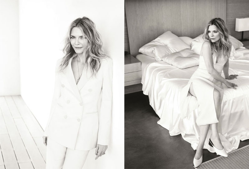 The Simple Life: Michelle Pfeiffer for The EDIT