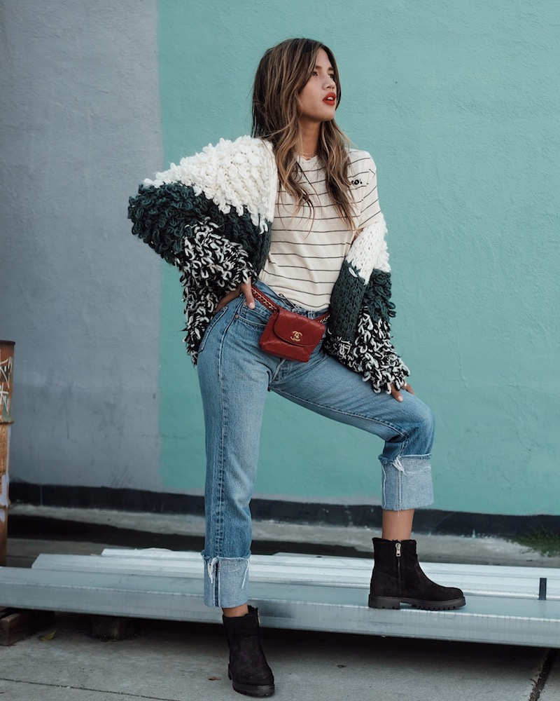 Vince Frances Shearling-Lined Suede Boot
