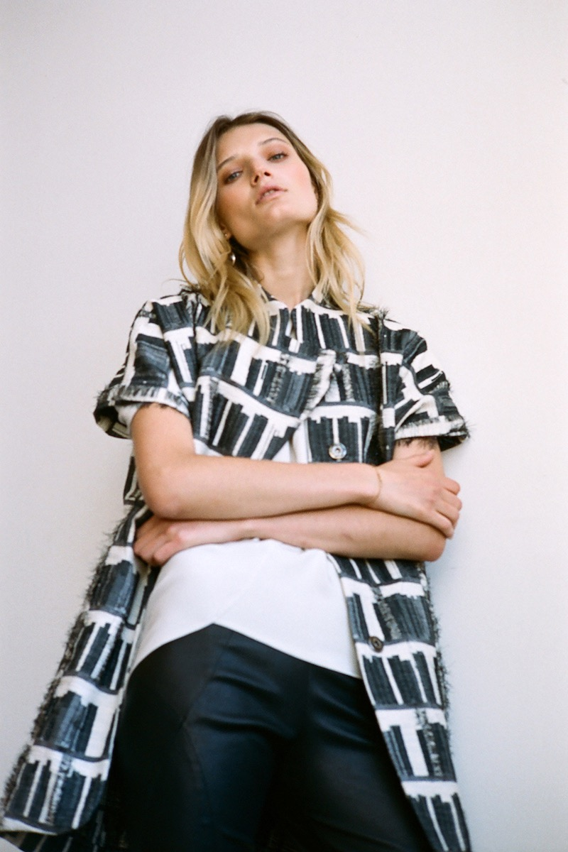Zero + Maria Cornejo Amale Silk Blouse