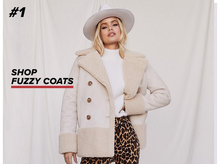 Shop Fuzzy Coats