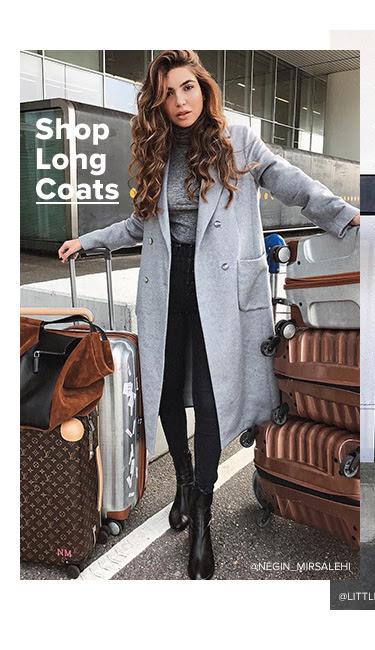 Shop Long Coats