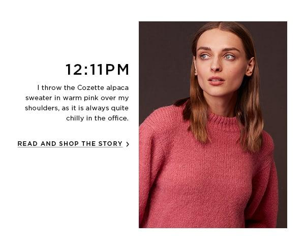 Cozette Alpaca Sweater